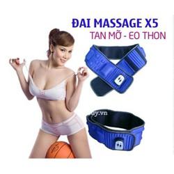 Đai massage tan mỡ