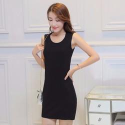 Đầm suông quyến rũ phong cách Hàn Quốc