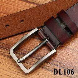 DL106 - Thắt lưng da nguyên miếng đục lỗ