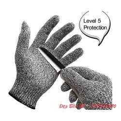 Găng tay chống cắt cấp 5, gọn nhẹ độ linh hoạt cao