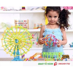 Bộ ghép ống sáng tạo cho trẻ em
