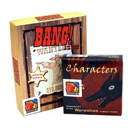 Board Game CBBG15 Combo BANG Ma sói characters
