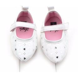 Giày tập đi búp bê mũi nhọn trái tim xinh xắn