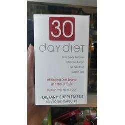 Giảm cân 30 Day Diet 60 viên -made in USA