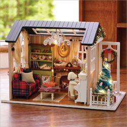 Mô hình nhà gỗ đẹp mắt DIY Nhật Bản - Garden House