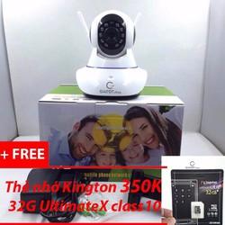 Camera Wifi HD-720P GIATOT.shop model 2017 tặng kèm thẻ nhớ camera 32G