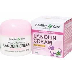 Kem Dưỡng Da Nhau Thai Cừu Healthy Care Lanolin Cream 100g