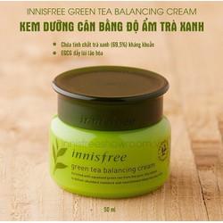 Kem Dưỡng Innisfree Green Tea Balancing Cream