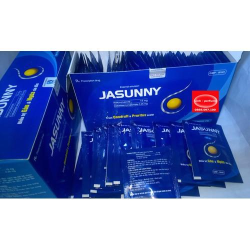 combo 10 bịch Jasunny dầu gội trị gàu 5g - 5073912 , 6904777 , 15_6904777 , 58000 , combo-10-bich-Jasunny-dau-goi-tri-gau-5g-15_6904777 , sendo.vn , combo 10 bịch Jasunny dầu gội trị gàu 5g