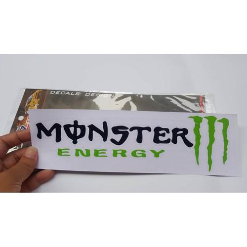 Miếng dán decal monster cho xe máy, oto,.. 7x25cm - 4930149 , 6911379 , 15_6911379 , 30000 , Mieng-dan-decal-monster-cho-xe-may-oto..-7x25cm-15_6911379 , sendo.vn , Miếng dán decal monster cho xe máy, oto,.. 7x25cm
