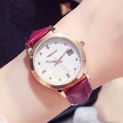 Đồng hồ thời trang nữ dạ quang - Miyota