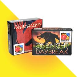 Board Game CBBG08 Combo Ma Sói Characters Ma Sói Daybreak