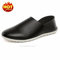 Giày Lười Nam Đẹp - Da Thật , Mẫu Mới Hàn Quốc 2017 , Cực Chất