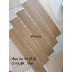 sàn nhựa giả gỗ tự dính