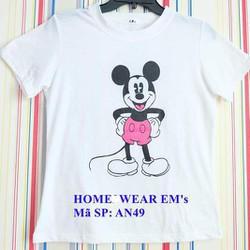 Áo in chuột Mickey dễ thương