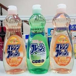 Nước rửa bát chén có thể rửa rau củ quả