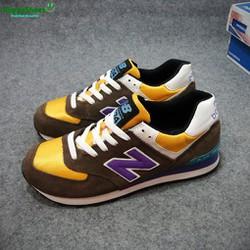 Giày Sneaker New Balance nâu hàng VNXK