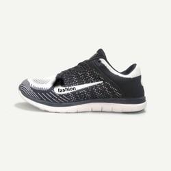 Giày thể thao nam nữ FASHION 4 - Trắng đen