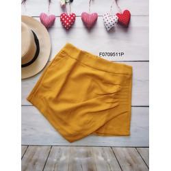 Chân váy nhúng vạt 2 túi hàng thiết kế- MS: S070935  Gs: 115K
