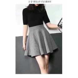 Chân váy len cao cấp - hàng nhập Quảng Châu
