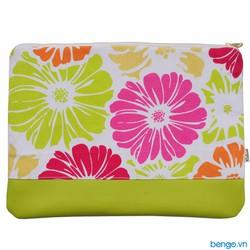 Túi bảo vệ và làm đẹp laptop siêu mỏng Coloré - Họa tiết hoa cúc