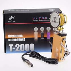 Micro Thu Âm karaoke trực tuyến T2000 - Micro T2000