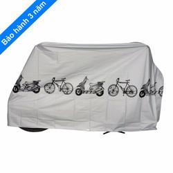 Áo phủ xe máy chống nắng mưa
