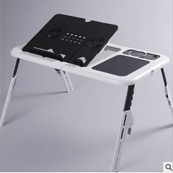 Bàn để laptop đa năng E-Talbe bằng nhựa ABS Cao cấp có đế tản nhiệt
