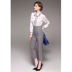 💓HÀNG NHẬP - Set bộ áo sơ mi + quần dài công sở cao cấp - CK3115380