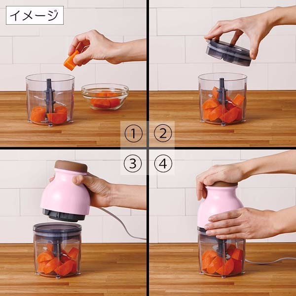 Máy xay sinh tố đa năng Osaka - Máy xay thịt cá 6