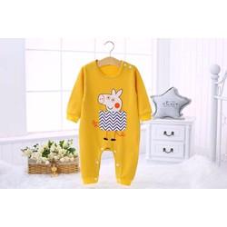 Bộ quần áo liền cho bé
