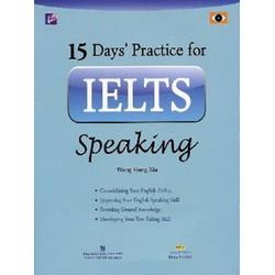 15 Days Practice For IELTS Speaking  Kèm CD - Sách Photo đẹp