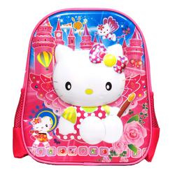 Balo mẫu giáo hình 3D nổi Hello Kitty
