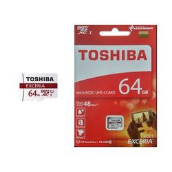 Thẻ Nhớ Micro SD Toshiba 64G Class 10 40MB Chính Hãng Box Đỏ