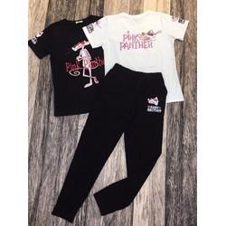 Bộ quần áo pink panther