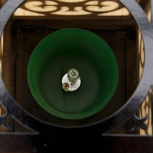 Đèn xông tinh dầu điện gỗ Lorganic DX0426