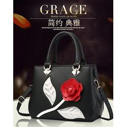 Túi xách   hoa hàng loại 1  có sẵn hàng nhập HK