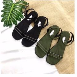 giày sandal quai ngang đơn giản