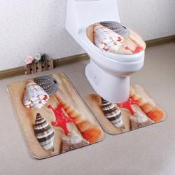 Bộ 3 Thảm 3D Chống Trượt Toilet