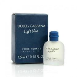 Nước hoa Nam DOLCE and GABBANA Light Blue Pour Homme EDT 4.5ml