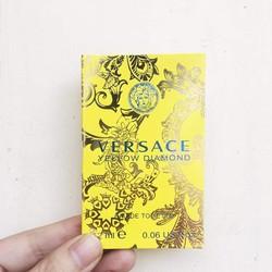 Mẫu thử nước hoa vial Versace Yellow Diamond