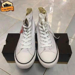 Giày Classic Cổ cao Nam Nữ | Giày Sneaker Nam Nữ Màu Trắng