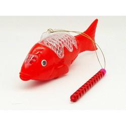 Đồ chơi phát nhạc 3D cá chép, có phát nhạc và đèn, vui nhộn