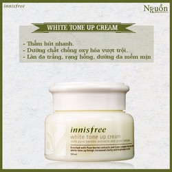 Kem dưỡng Innisfree White Tone Up 50ml