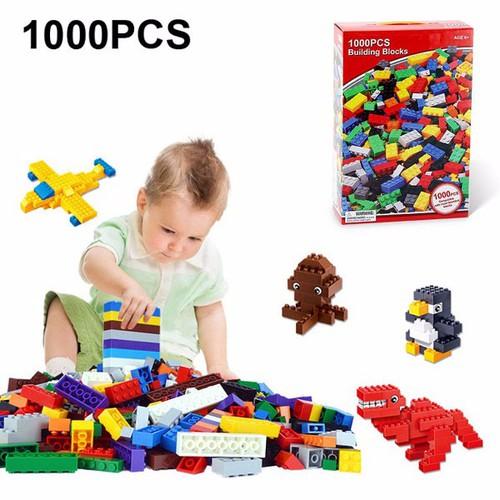 Bộ đồ chơi xếp hình lego 1000 chi tiết cho bé sáng tạo - 4931106 , 6928703 , 15_6928703 , 340000 , Bo-do-choi-xep-hinh-lego-1000-chi-tiet-cho-be-sang-tao-15_6928703 , sendo.vn , Bộ đồ chơi xếp hình lego 1000 chi tiết cho bé sáng tạo