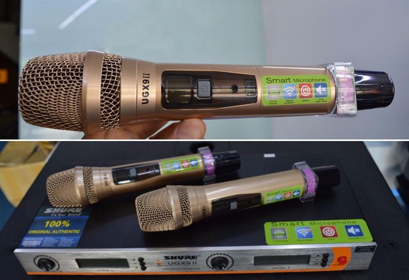 Micro không dây Shure UGX9ii loại 2 2