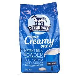 Sữa tươi Devondale dạng bột nguyên kem 1kg
