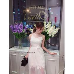 Đầm Xòe Ren Quá Xá Là Xinh
