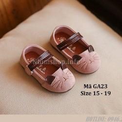 Giày Bé Gái Kiểu Tai Mèo Xinh Xắn GA23