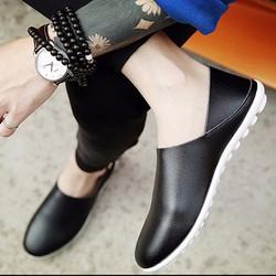 Giày Lười Nam Đẹp -  Mẫu Mới Hàn Quốc 2018 , Cực Chất